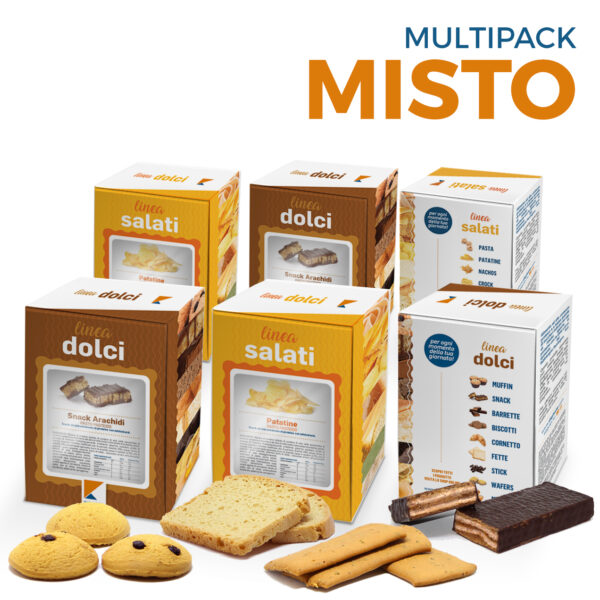 multipack misto - snack proteici