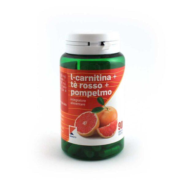 integratore l-carnitina té rosso e pompelmo