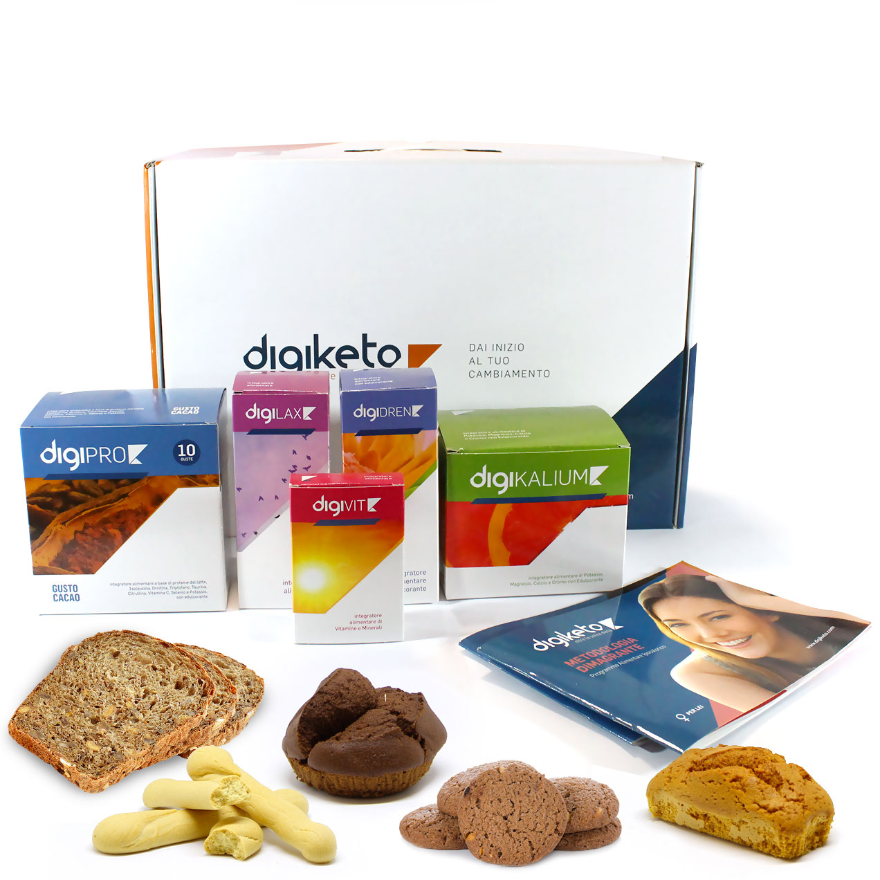 mini kit metodo digiketo 14 giorni snack proteici