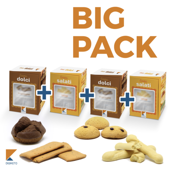 big pack misto - snack proteici