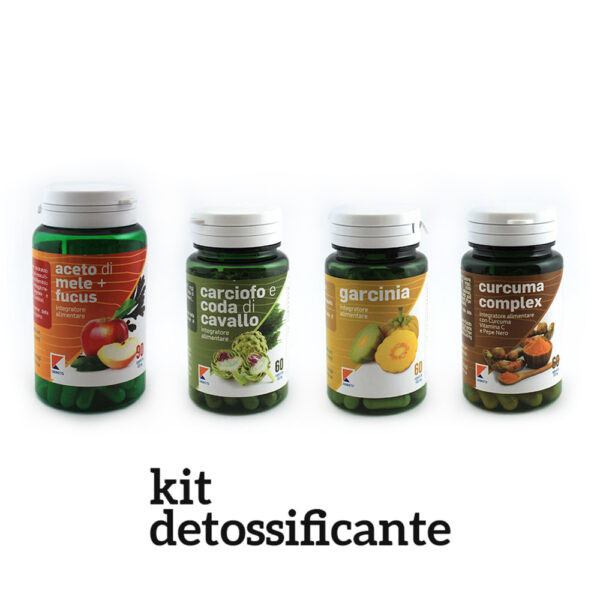 kit integratori detossificanti digiketo